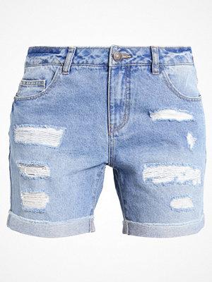 Vero Moda VMBE ADELE Jeansshorts medium blue