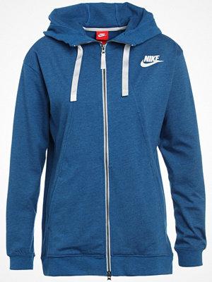Cardigans - Nike Sportswear Kofta industrial blue heather/sail