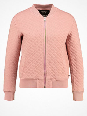 Superdry BEACH Bomberjacka washed pink