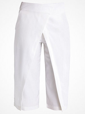 Missguided Tygbyxor white