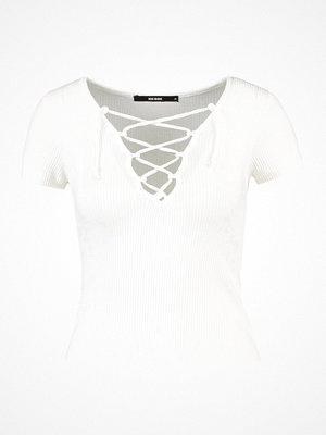 T-shirts - Bik Bok LACY Tshirt med tryck white