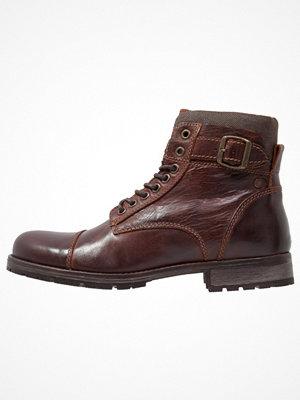Boots & kängor - Jack & Jones JFWALBANY  Snörstövletter brown