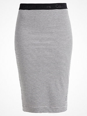 Calvin Klein Jeans KORI Pennkjol light grey heather/black