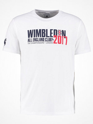 Polo Ralph Lauren Tshirt med tryck pure white