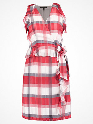 Banana Republic ROSALYN PLAID Sommarklänning red