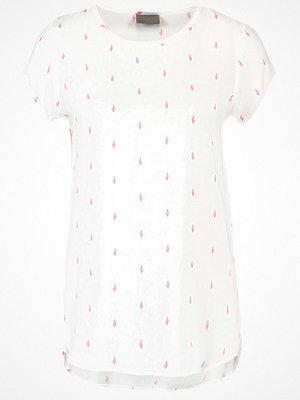 Vero Moda VMBOCA  Tshirt med tryck snow white