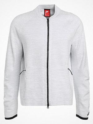 Street & luvtröjor - Nike Sportswear TECH Sweatshirt white/pure platinum/wolf grey