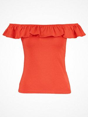 New Look Tshirt med tryck blood orange