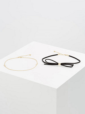 Only ONLALMA 2 PACK  Halsband goldcoloured