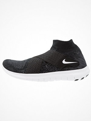 Sport & träningsskor - Nike Performance FREE RUN MOTION FLYKNIT 2017 Löparskor black/white/dark grey/volt/wolf grey