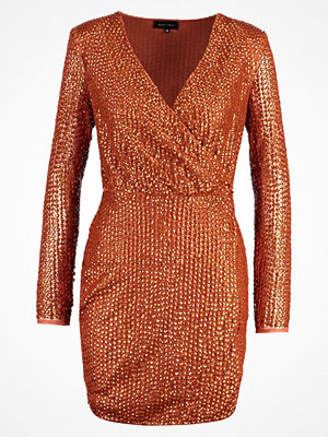 Missguided PEACE+LOVE Cocktailklänning copper