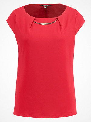 comma Tshirt med tryck red