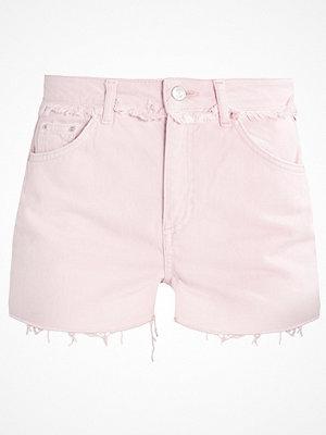 Topshop Jeansshorts pink
