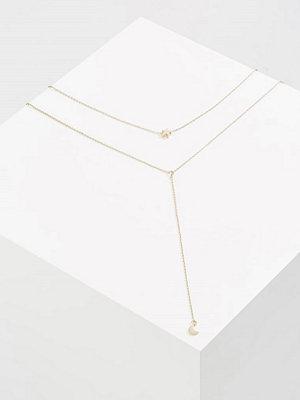 Smycken - Topshop Halsband goldcoloured