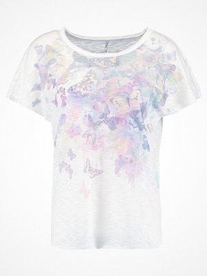 Only ONLFLY Tshirt med tryck cloud dancer