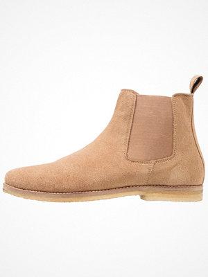 Boots & kängor - Topman EIGER CHELSEA  Stövletter tan