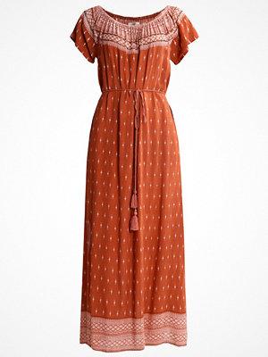 Cream ABUJA DRESS Maxiklänning sun brown