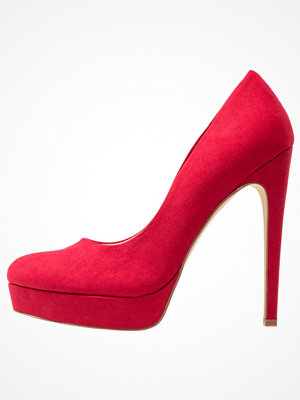 Even&Odd Klassiska pumps red
