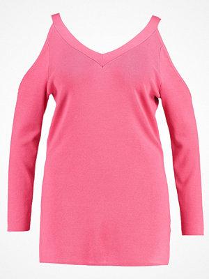 Dorothy Perkins Curve Stickad tröja pink