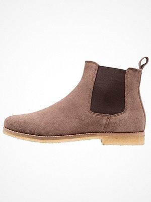 Boots & kängor - Topman EIGER CHELSEA  Stövletter brown