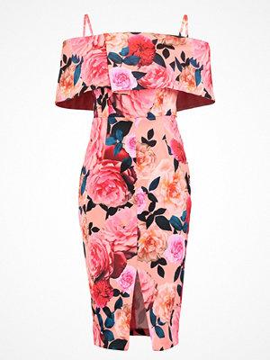 Dorothy Perkins FLORAL Cocktailklänning peach