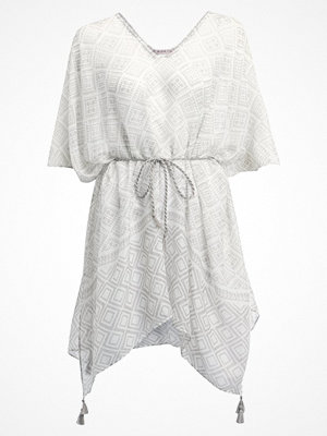 Anna Field Poncho white/light grey