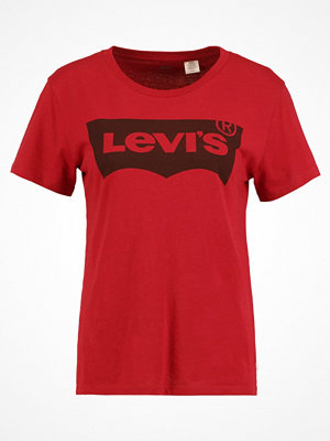 Levi's® THE PERFECT Tshirt med tryck red dahlia