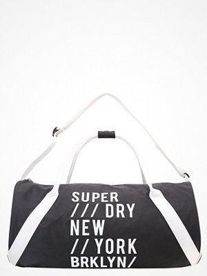 Superdry LUXE Sportväska black/white