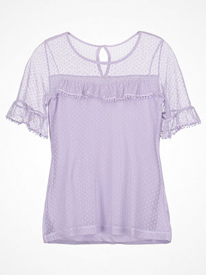 Dorothy Perkins DOBBY Tshirt med tryck purple