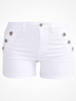 Shorts & kortbyxor - Only ONLROYAL Jeansshorts white
