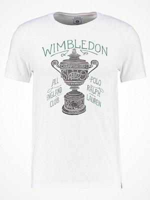 T-shirts - Polo Ralph Lauren Tshirt med tryck deckwash white