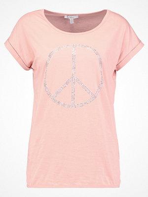 Mavi PEACE Tshirt med tryck dusty pink