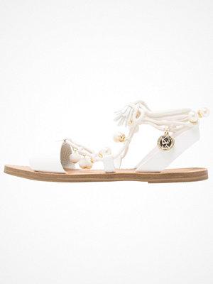 Sandaler & sandaletter - Miss Selfridge PEBBLES Sandaler & sandaletter white