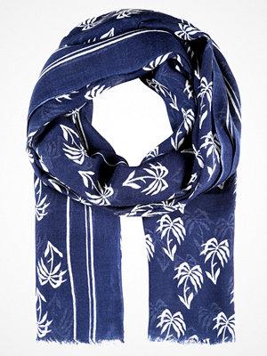 Halsdukar & scarves - Becksöndergaard POIPU Halsduk medieval blue