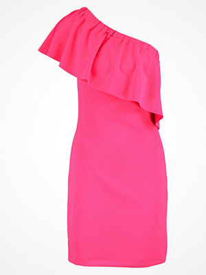 Warehouse Jerseyklänning pink