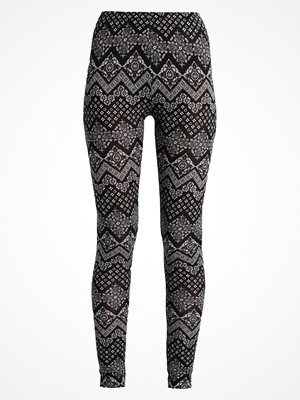 Leggings & tights - Even&Odd Leggings white/black