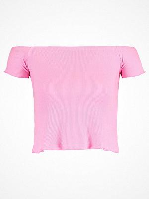 Even&Odd OFFSHOULDER Tshirt med tryck rose