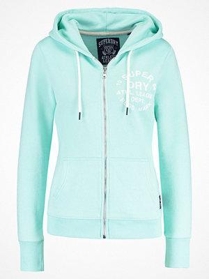 Street & luvtröjor - Superdry ATHLETIC LEAGUE Sweatshirt soft mint marl