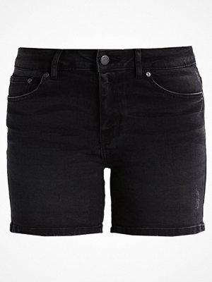 Shorts & kortbyxor - Only ONYPEARL  Jeansshorts black
