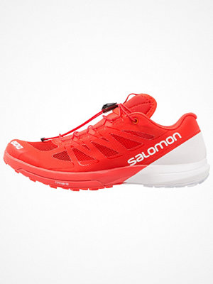 Sport & träningsskor - Salomon SLAB SENSE 6 Löparskor terräng racing red/white