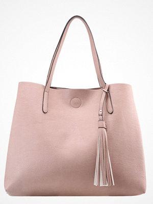 Anna Field gammelrosa shopper Shoppingväska rosa