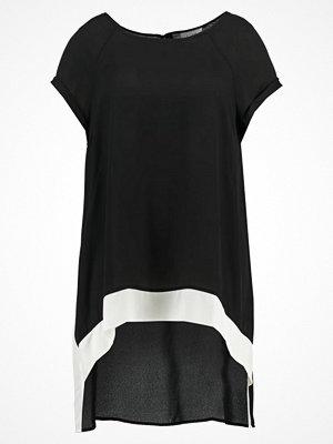 T-shirts - Live Unlimited London CONTRAST  Blus mono black