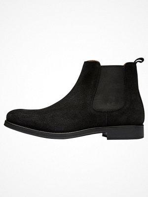 Boots & kängor - Selected Homme Stövletter black