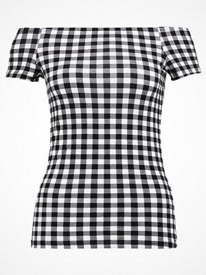 Dorothy Perkins GINGHAM Tshirt med tryck black