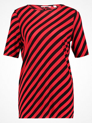 Cheap Monday AVANT SLASH STRIPE  Tshirt med tryck red/black