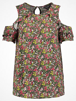 Dorothy Perkins DITSY FLORAL COLD SHOUDER Blus navy blue