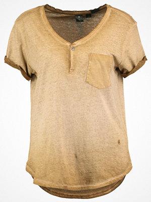 G-Star GStar SUNDU GRANDDAD T S/S Tshirt med tryck oxide ocre
