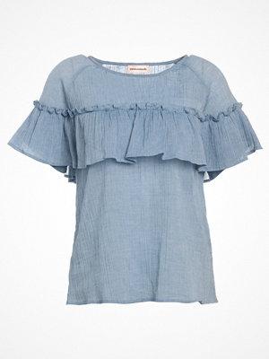 Custommade JANINA Tshirt med tryck colony blue