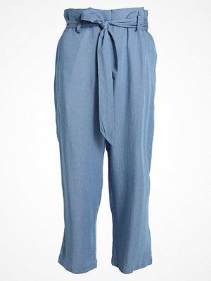 Custommade MADELIN  Tygbyxor colony blue