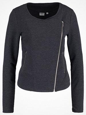 Street & luvtröjor - Object OBJCHEE Sweatshirt dark grey melange